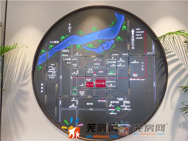 华强江山府交通图