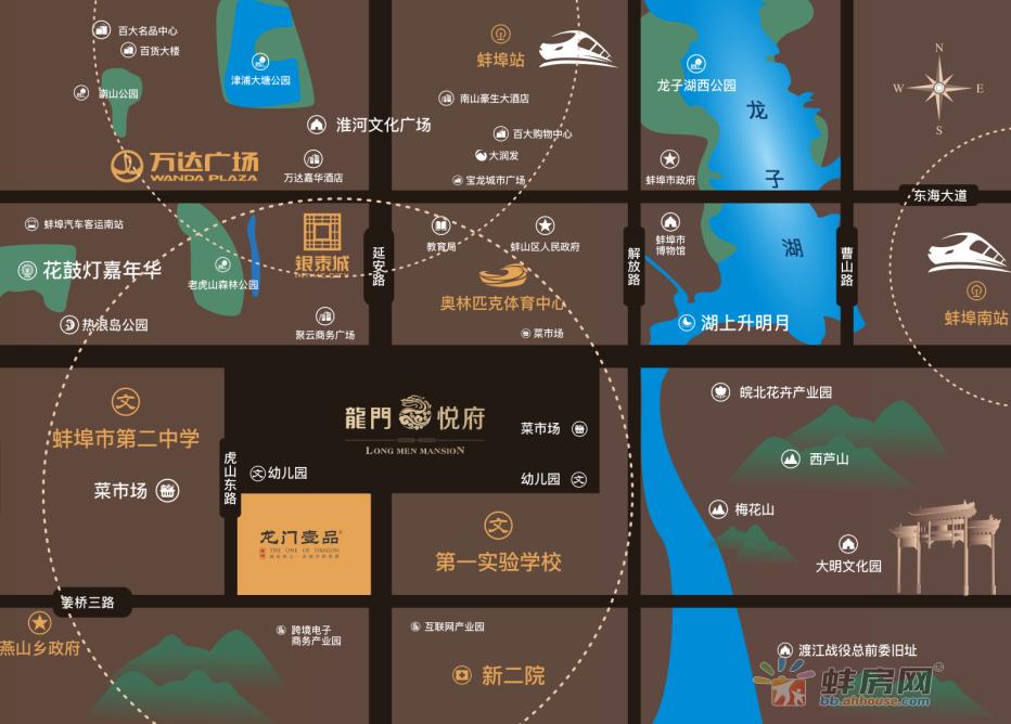 龙门壹品交通图
