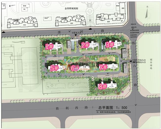 蚌埠华地公馆再添新军 四期畅园7栋住宅楼规划公示