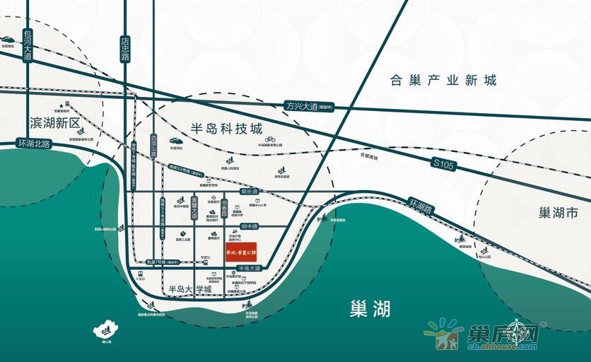 华地·黄麓公馆交通图