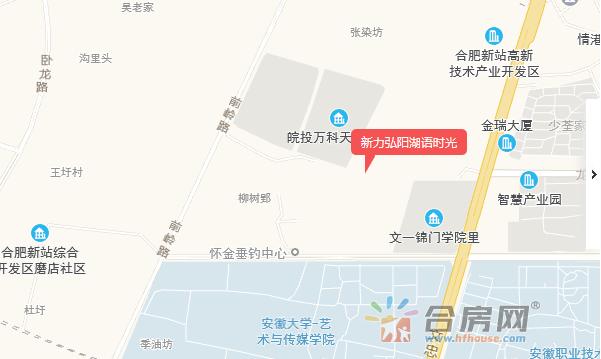 新力弘阳湖语时光交通图