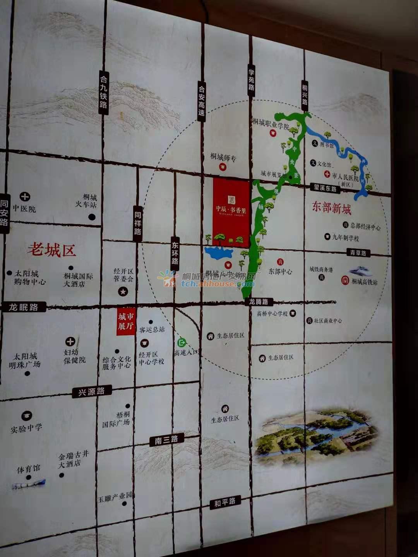 中辰书香里交通图