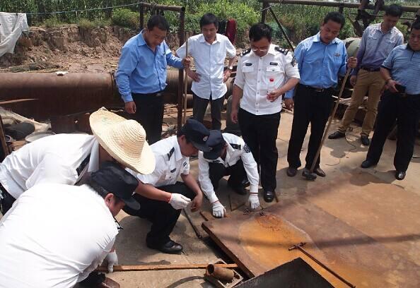 芜湖市开展专项行动 打击黑恶势力非法采砂