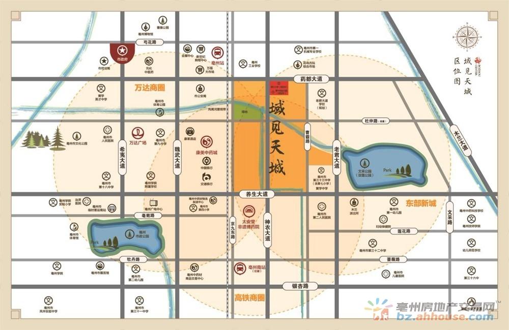 世纪金源·域见天城交通图