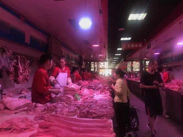 节前肉蛋价格持续高位 蔬菜价格近几年同期最低