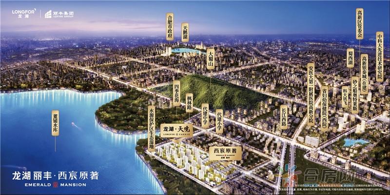 龙湖丽丰·西宸原著楼号图