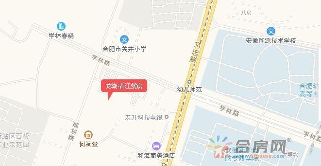 龙湖·春江紫宸交通图
