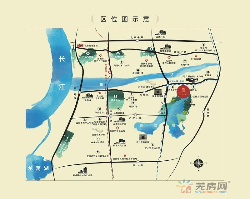 中御公馆交通图