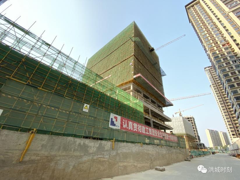 再创新高!绿地朝阳中心216米超高层,点亮城市美好高度