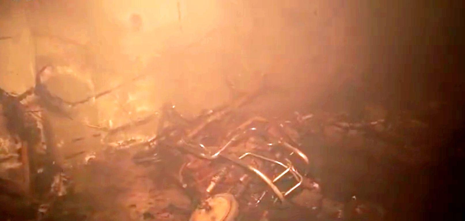 地下车库十辆电瓶车付之一炬 事发淮上区小蚌埠