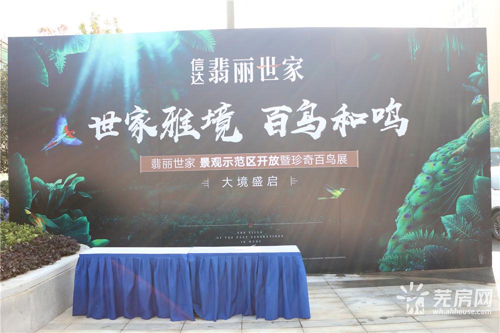 信达翡丽世家 景观示范区开放暨珍奇百鸟展
