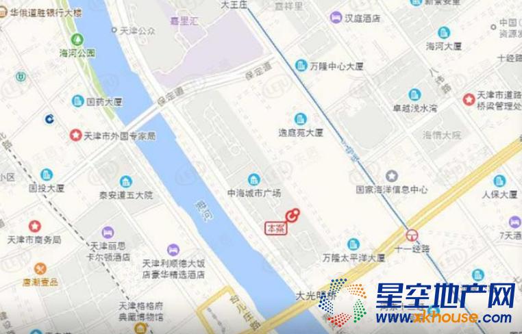 中海·城市广场·钻石湾交通图