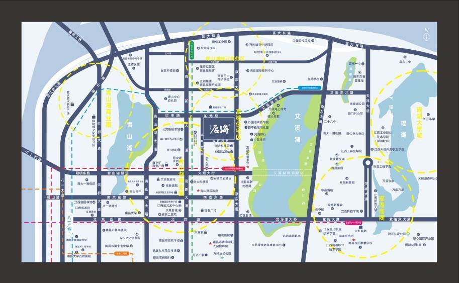东汇·后海交通图