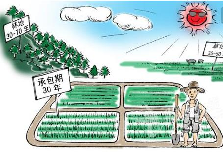 国务院关于保持土地承包关系稳定并长久不变的意见