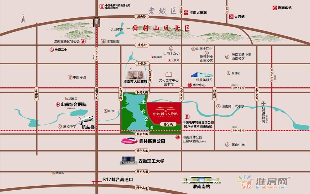中电科·八号院交通图