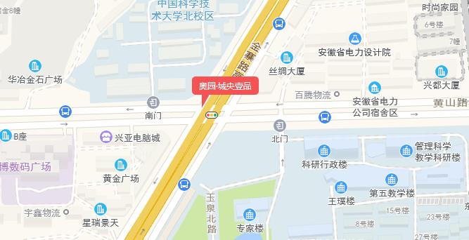 奥园·城央壹品交通图