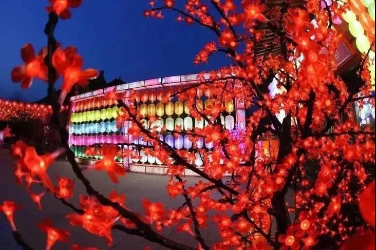 哇 超震撼!2020淮北吾悦广场大型迎春文化大庙会正月初一盛大开幕咯!