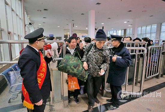 春运大幕开启 宿州火车站返乡客流增加