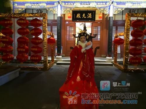 """网红""""不倒翁小姐姐""""来亳州啦 春节期间每晚都可以看!"""