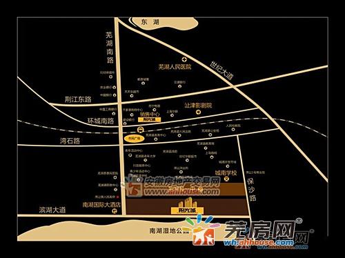 静安阳光城交通图