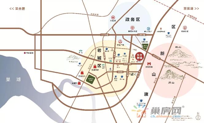 富煌·东方春晓交通图