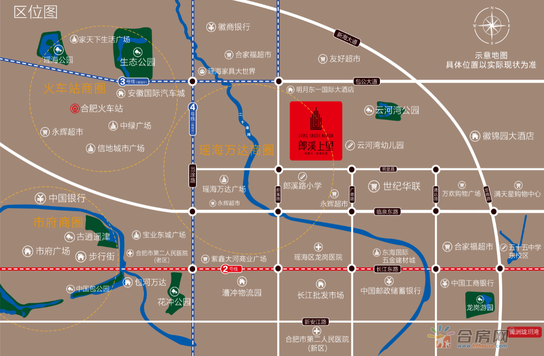禹洲郎溪上里交通图