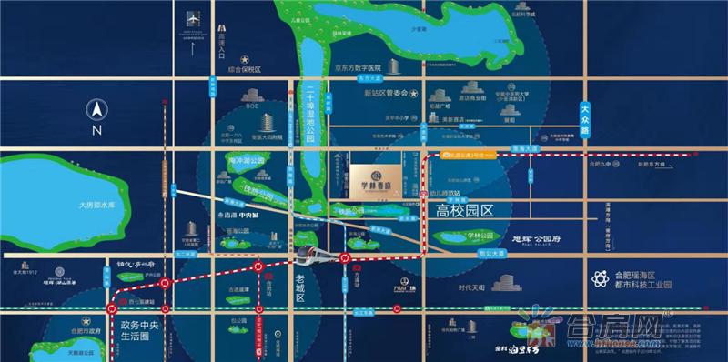 学林春晓交通图