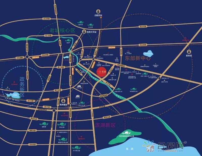 一尔悦城交通图