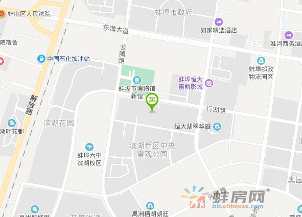 绿地珠峰交通图