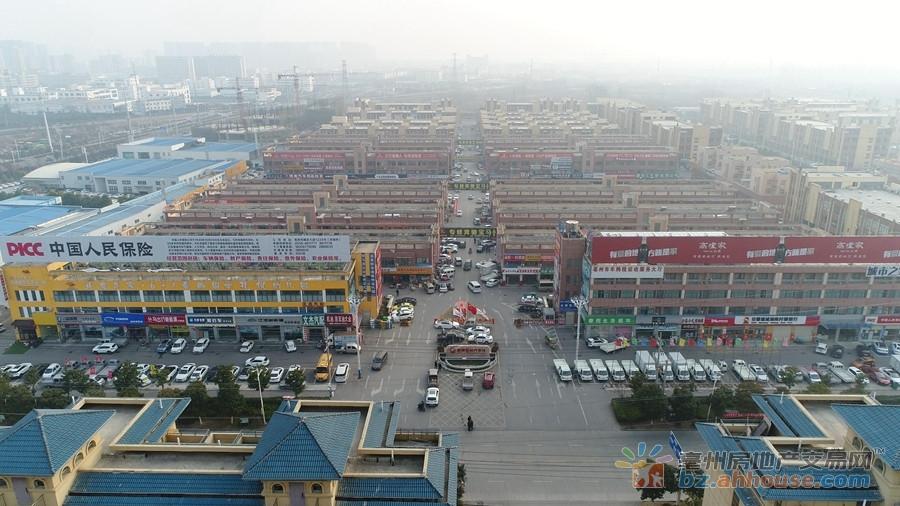 亳州春雨国际汽车城楼号图