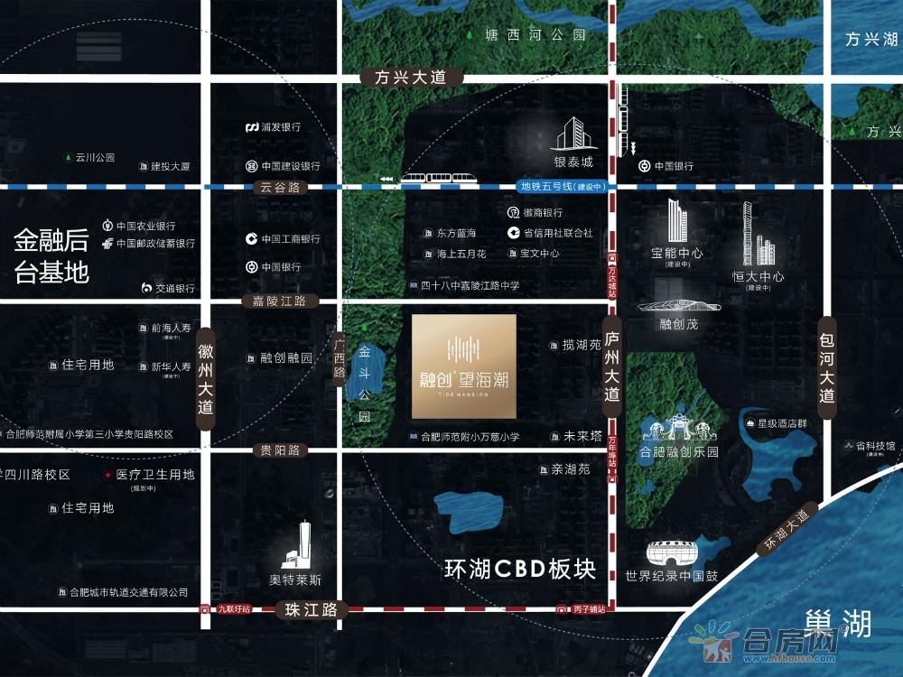 融创望海潮交通图