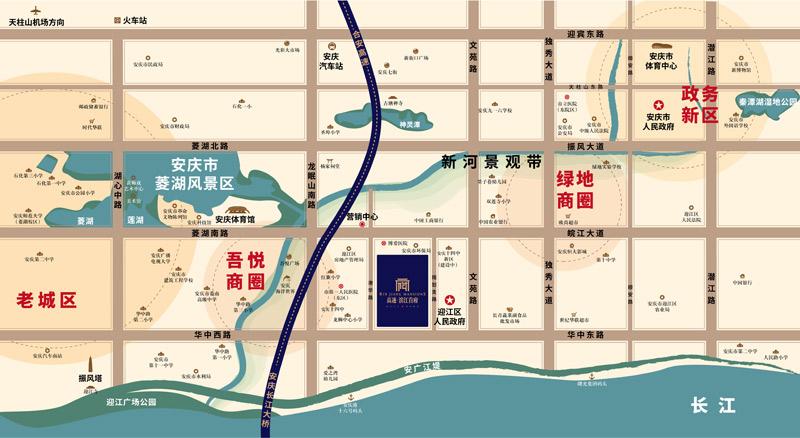 高速·滨江首府交通图