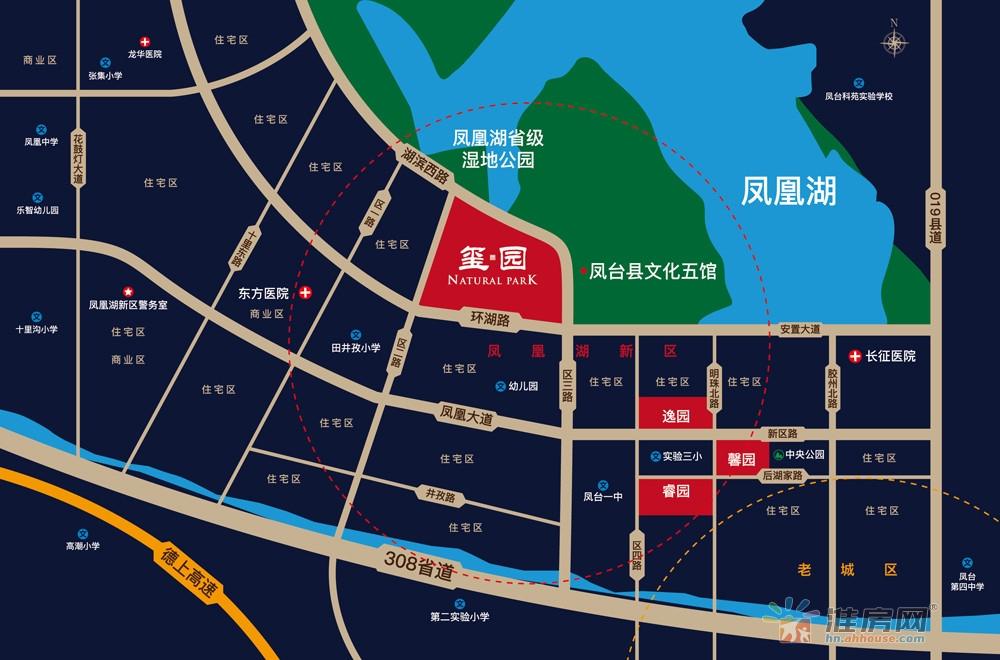 顺景天成·玺园交通图