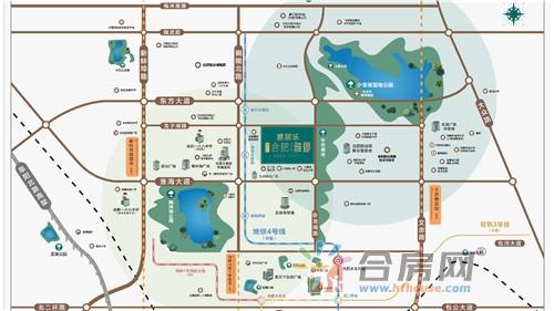 雅居乐·合肥雅郡交通图