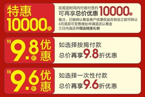 疫情期间蚌埠多盘优惠升级 单套最高优惠19.7万
