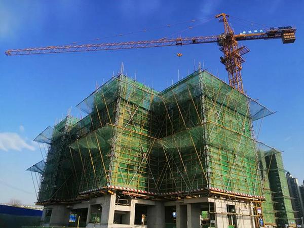 翡丽东方3月工程进度来了!1栋结构封顶!
