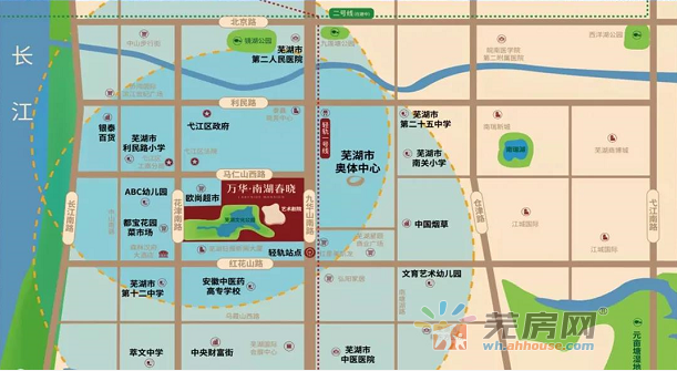 万华·南湖春晓交通图