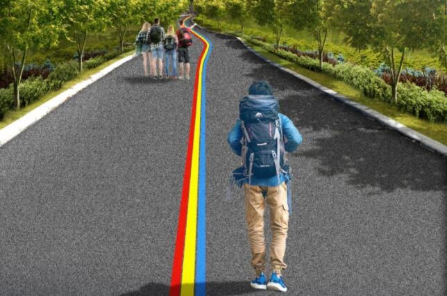 """兴奋!!!全长2.2公里 蚌埠将有一条""""彩虹""""路…"""