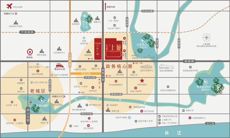 弘阳广场丨弘阳上城交通图