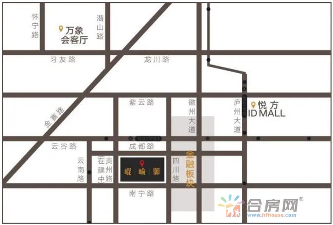 华润·昆仑御交通图