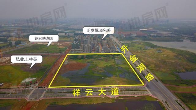 南昌宣奥、同晖地产以3.77亿联合竞得明发南侧地块