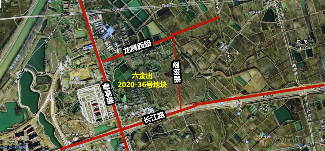 六安288亩居住用地6月开拍 起拍价超4亿元