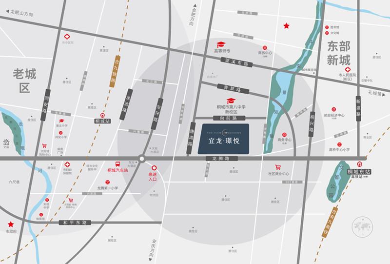 宜龙·璟悦交通图
