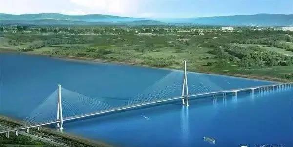 池州长江公铁大桥新进展 池州东站初步选址池州江口