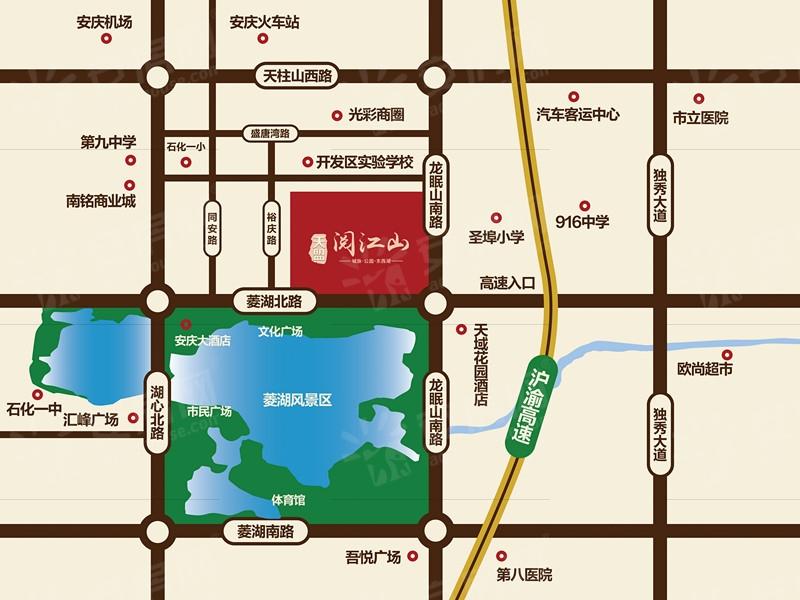 天盟·阅江山交通图