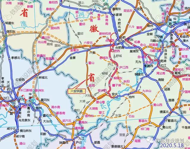 速看!六安至安庆铁路第一次环评公示发布!