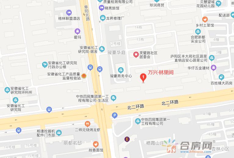 万兴·林里间交通图