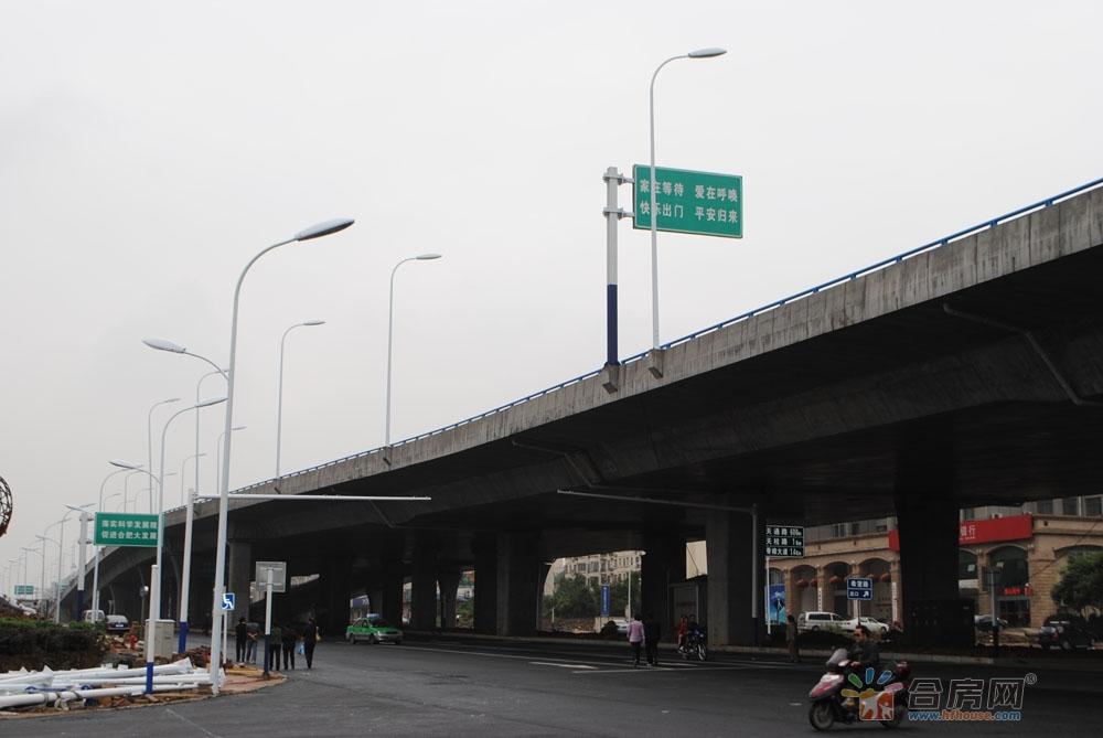 10月15日起! 合肥西二环这一路段将全封闭施工!