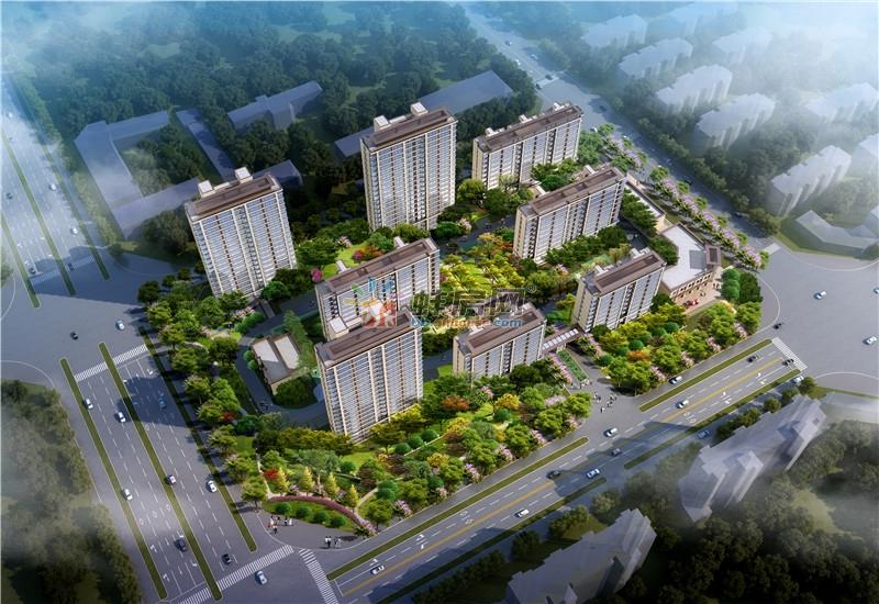 北京城房·春华园楼号图