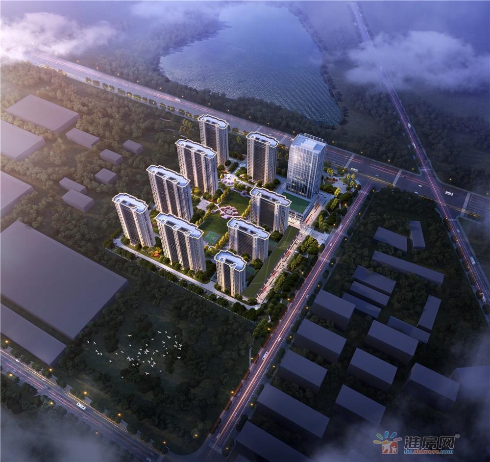 颐新·公元首府楼号图